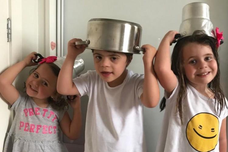 Chico, Maria Clara e Maria Antônia sãos os novos amigos do Menino Maluquinho (Foto: Acervo Pessoal)