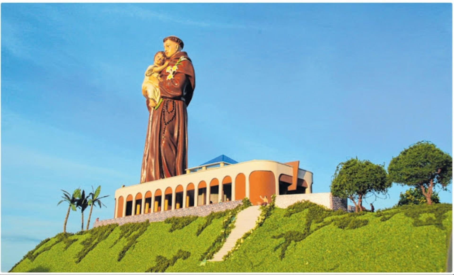 Ceará ganhará estátua de Santo Antônio quase do tamanho do Cristo Redentor
