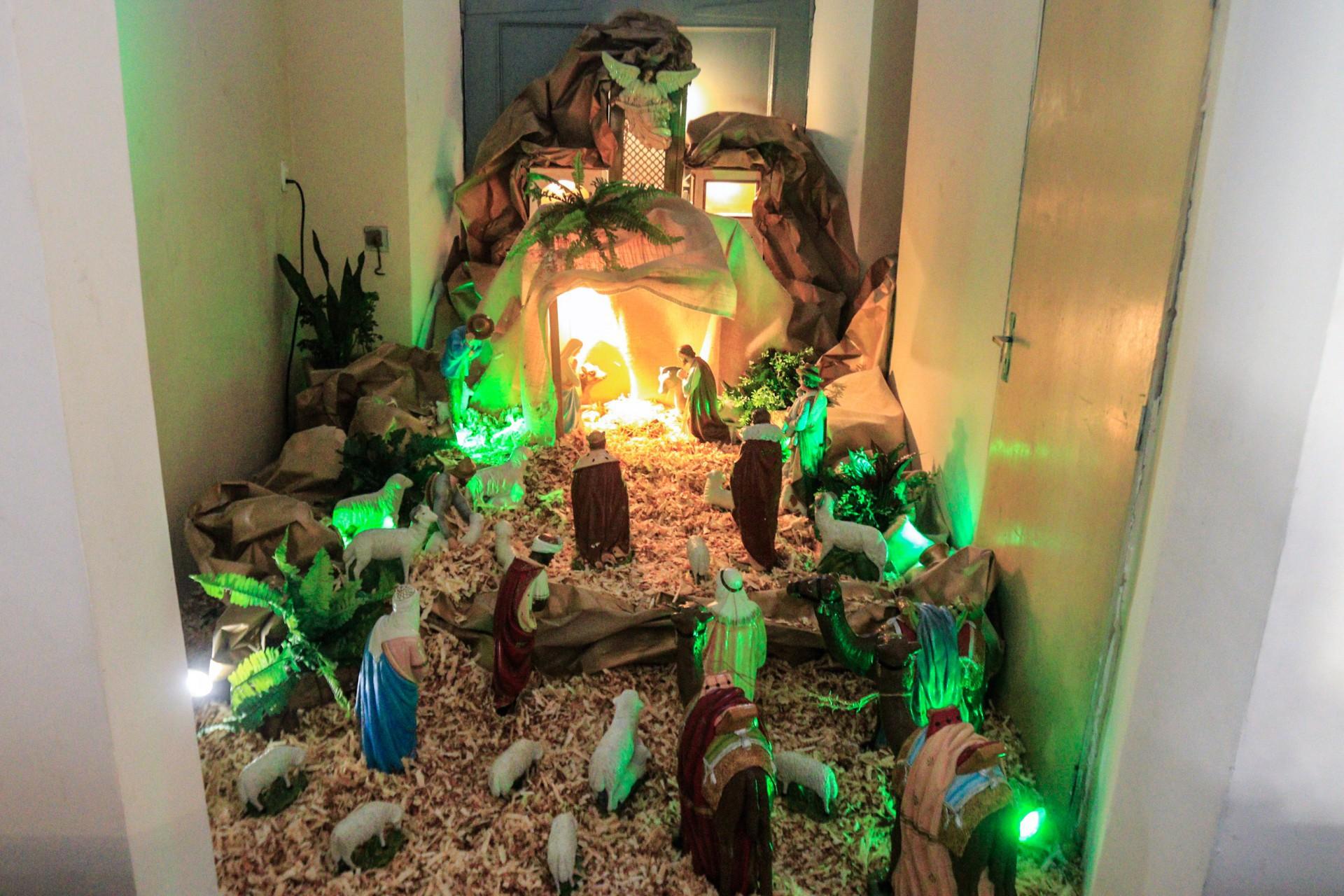Presépio: alegria do Natal