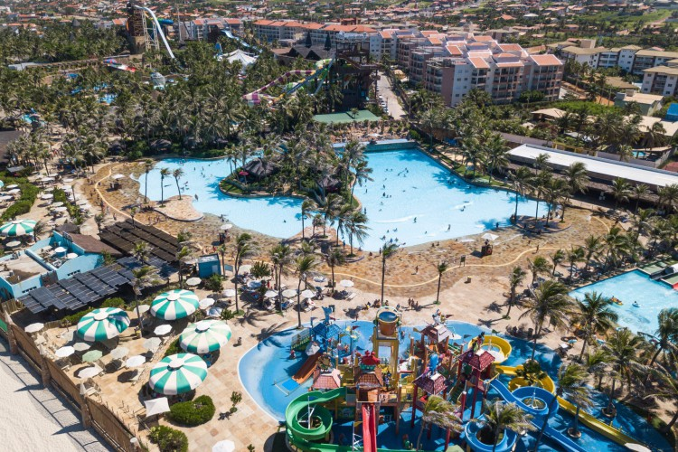 Beach Park deverá fechar no Carnaval (Foto: divulgação)