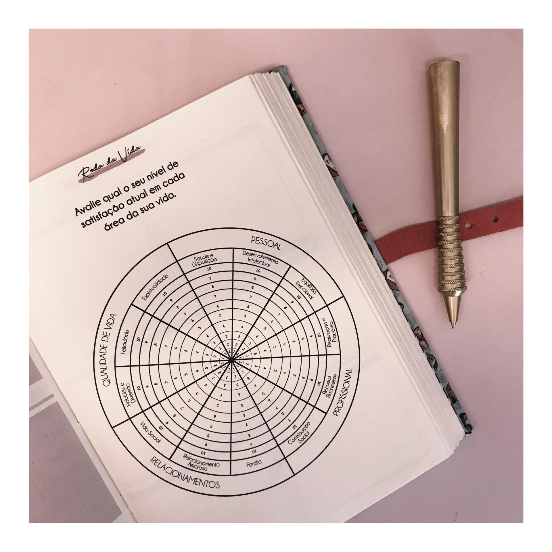 Planner da Limão Estúdio Criativo disponibiliza monitoramento das relações de vários âmbitos da vida (Foto: Divulgação/Limão Estúdio Criativo)