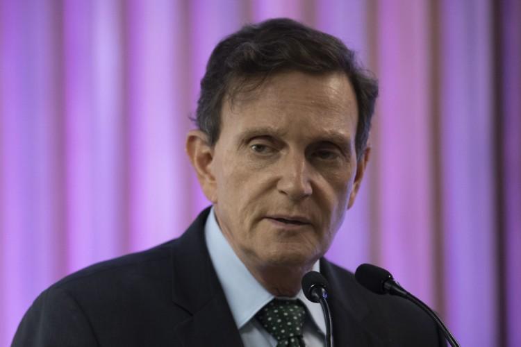 Marcelo Crivella, ex-prefeito do Rio de Janeiro (Foto de MAURO PIMENTEL / AFP)  (Foto: MAURO PIMENTEL / AFP)