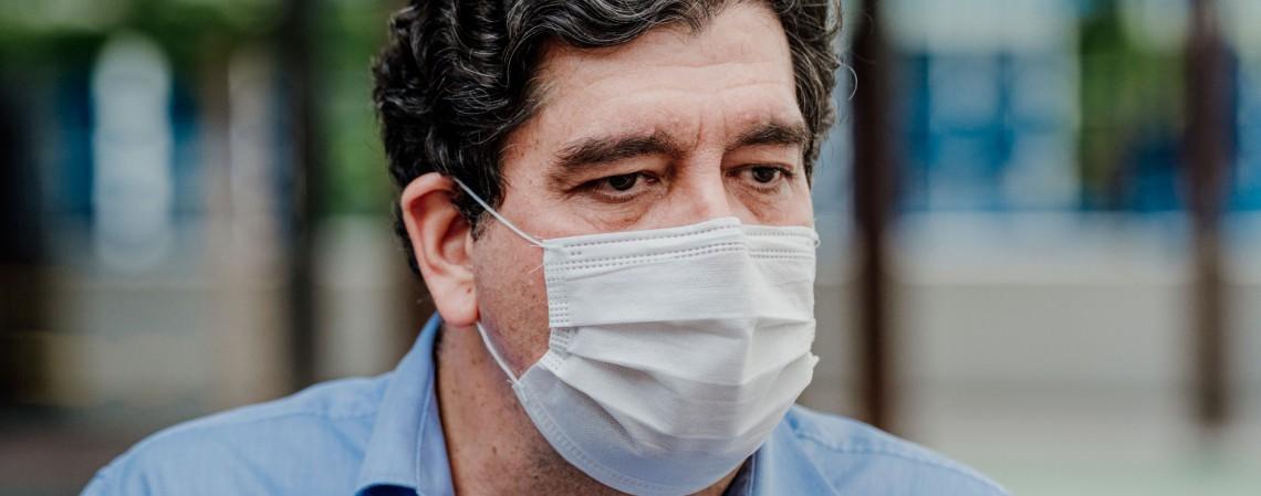 Dr. Cabeto, secretário da Saúde do Estado do Ceará (Foto: JÚLIO CAESAR)