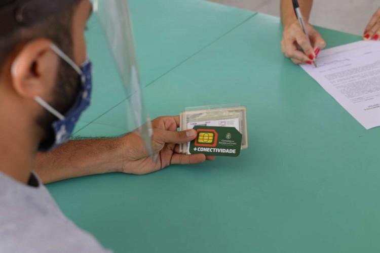 Chip na mão, agora é estudar(foto: Divulgação)