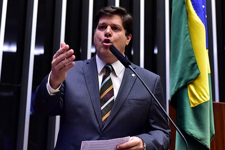 Deputado Baleia Rossi (MDB) disputará presidência da Câmara com o apoio do atual presidente da Casa, Rodrigo Maia (Foto: Zeca Ribeiro)