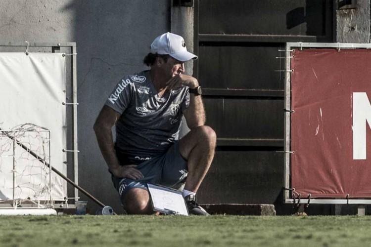 Cuca possui dois desfalques por lesão para partida contra o Ceará (Foto: Ivan Storti/ Santos FC)