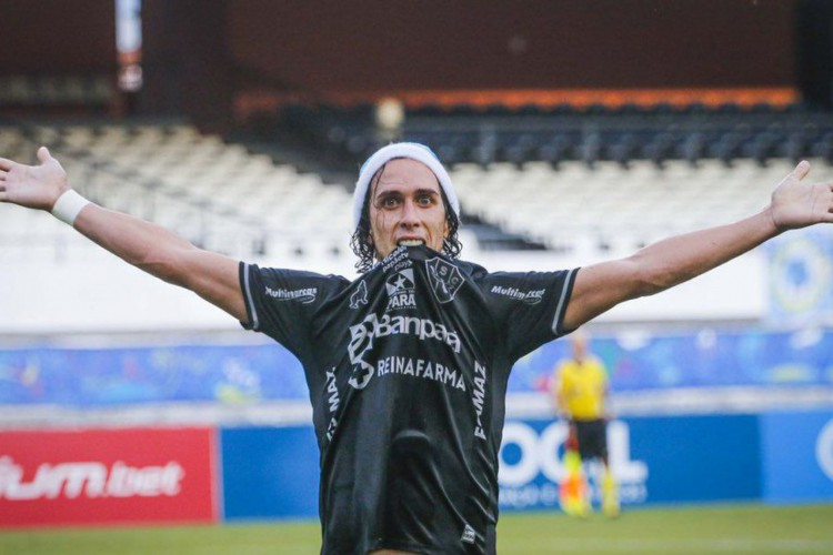 Nicolas brilha e Paysandu supera Londrina na Série C (Foto: )