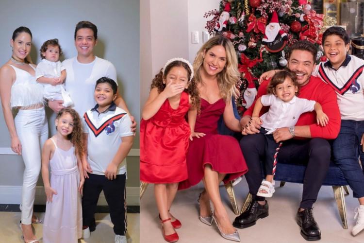 Thyane e Safadão têm dois filhos, Dom, de 2 anos, e Ysis, de 6 anos. O cantor também tem Yudhy, de 10 anos, filho dele com a influencer Mileide Mihaile (Foto: Reprodução/Instagram)