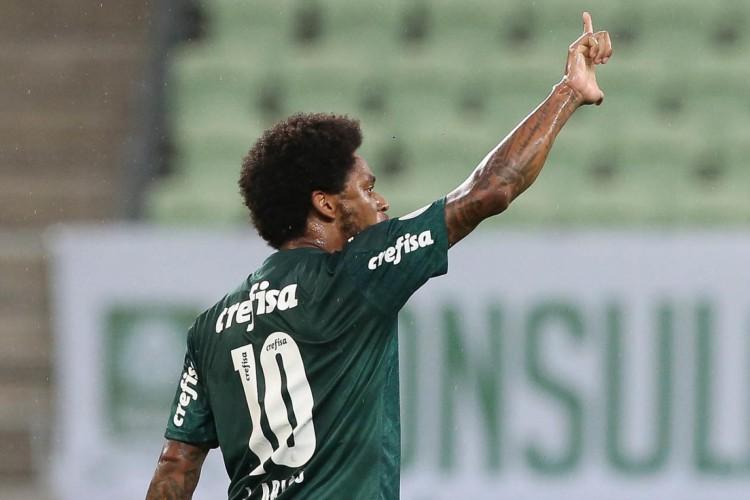 Atacante Luiz Adriano furou a quarentena após testar positivo para a Covid-19 (Foto: Cesar Greco/Palmeiras)