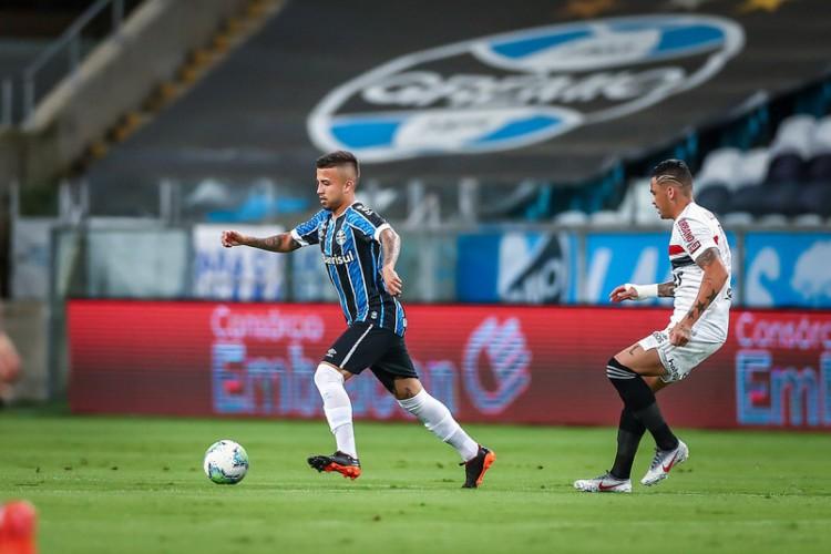 São Paulo e Grêmio tem as duas melhores defesas da Série A do Brasileiro (Foto: Lucas Uebel/Gremio FBPA)