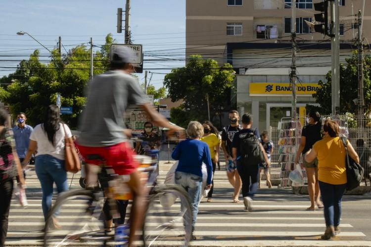 Comércio de rua deve ser menos afetado (Foto: Aurelio Alves)