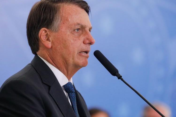 (Brasília - DF, 17/12/2020) Palavras do Presidente da República Jair Bolsonaro..Foto: Isac Nóbrega/PR (Foto: Isac Nobrega)