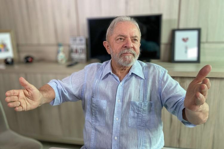 No levantamento, 50% dos entrevistados disseram que votariam com certeza ou poderiam votar em Lula se ele se candidatasse novamente à Presidência, e 44% afirmaram que não o escolheriam de jeito nenhum (Foto: Ricardo Stukert/Instituto Lula)