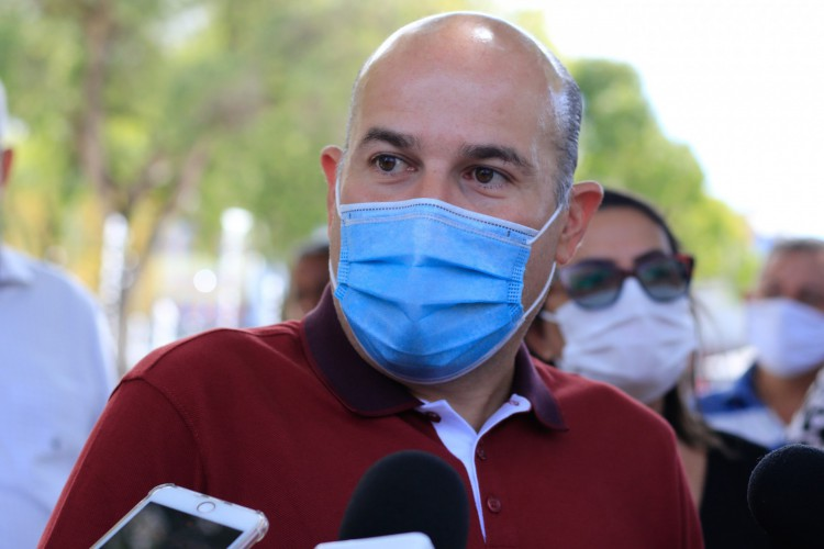 Roberto Claudio, ex-prefeito de Fortaleza (Foto: Bárbara Moira) (Foto: Barbara Moira)