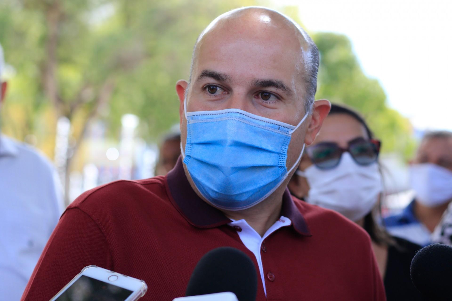 ROBERTO CLÁUDIO busca apoio no Interior (Foto: Barbara Moira)