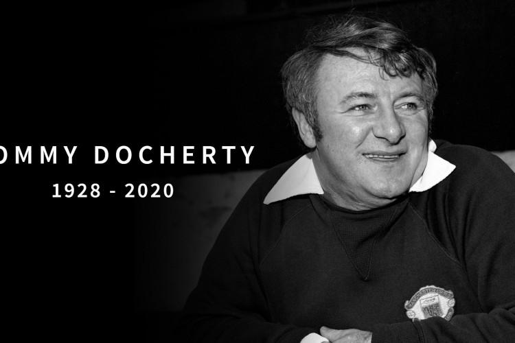 Tommy Docherty morreu aos 92 anos (Foto: Reprodução / Manchester United)