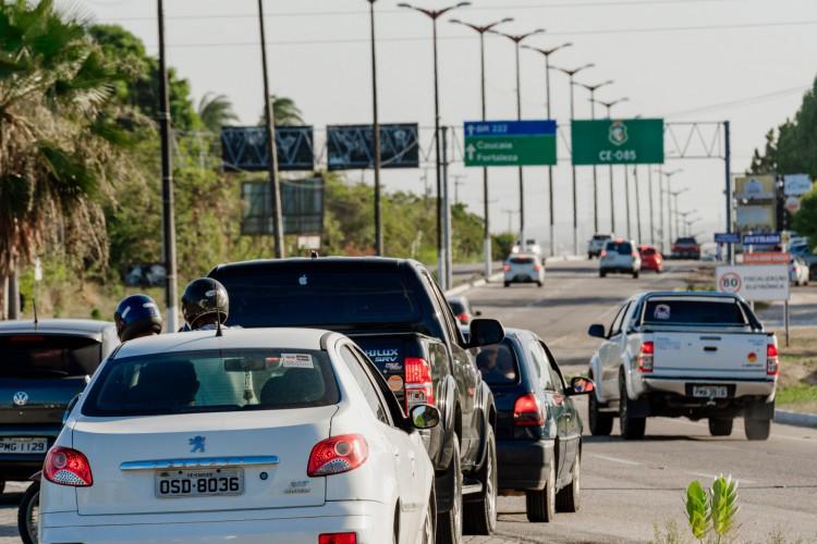 Com maior movimentação, Polícia Rodoviária Federal (PRF) deve seguir com reforço de fiscalização no início de 2021 (Foto: Júlio Caesar)