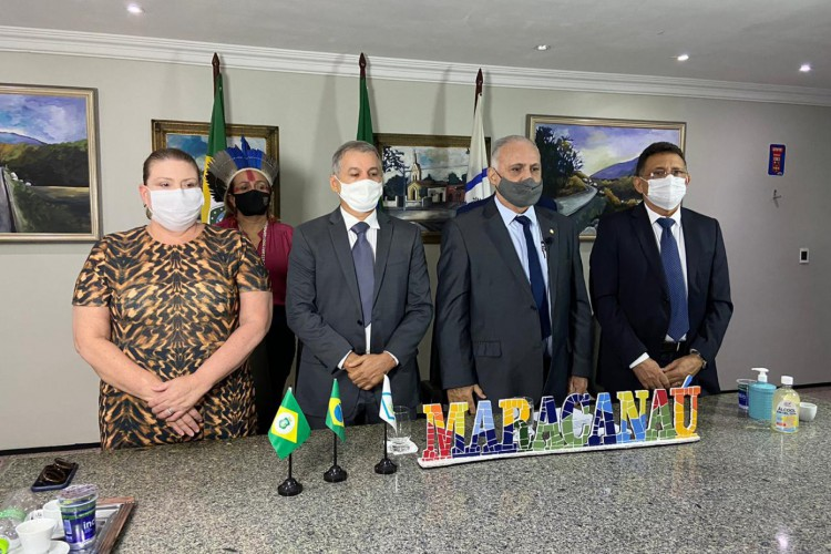 Roberto Pessoa foi empossado prefeito de Maracanaú nesta sexta-feira, 1° de janeiro de 2021. Este será seu terceiro mandato no Executivo local. (Foto: Divulgação)