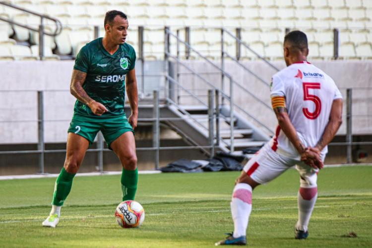 Floresta x América/RN, pelas quartas de final da Série D do Campeonato Brasileiro (Foto: Ronaldo Oliveira /ASCOM Floresta EC)