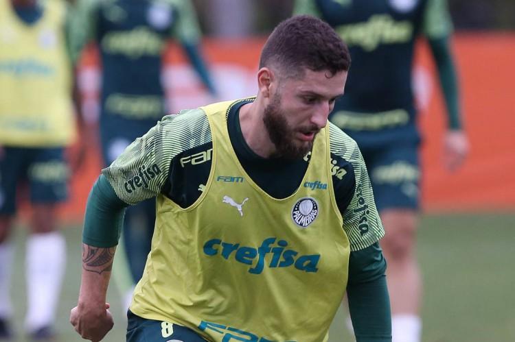 Zé Rafael deve ser opção de Abel Ferreira para semifinal da Libertadores (Foto: Cesar Greco / Palmeiras)