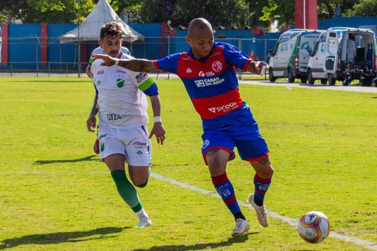 Marcílio Dias-SC e Altos-PI empatam em 1º duelo das quartas da Série D (Foto: )