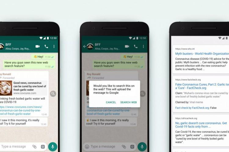 Funcionalidade do WhatsApp lançada em outubro, ferramenta para pesquisar mensagens encaminhadas pode ajudar no combate às fake news; veja dicas para evitar cair nesse e em outros tipos de golpes pelo aplicativo (Foto: Divulgação/WhatsApp)