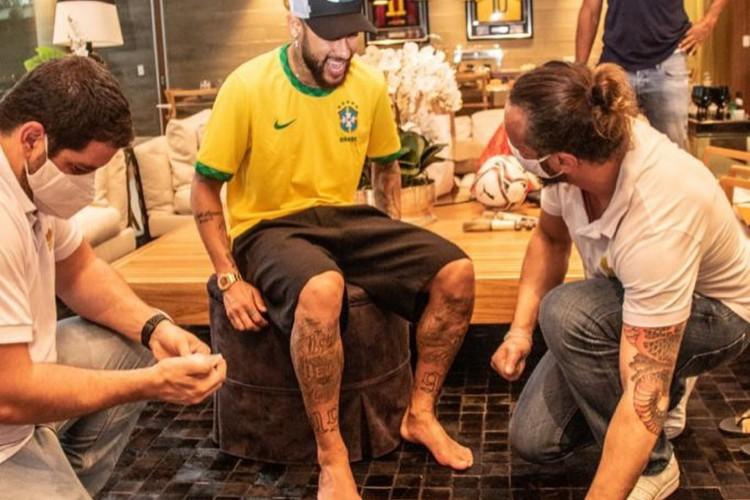Neymar será membro da calçada da fama do Macaranã (Foto: Reprodução / Instagram)