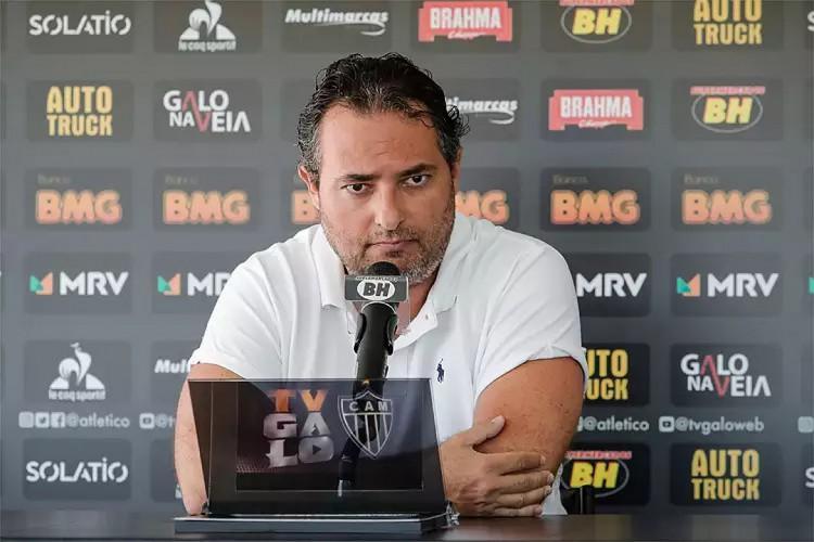 Alexandre Mattos não tem seu contrato renovado para a temporada 2021 (Foto: Bruno Cantini/Atlétic-MG)