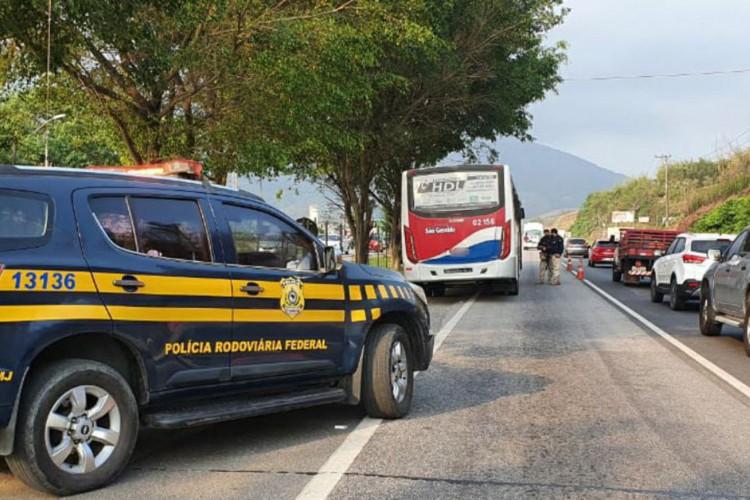 Operação PRF Rio de Janeiro (Foto: Comunicação Social da PRF)