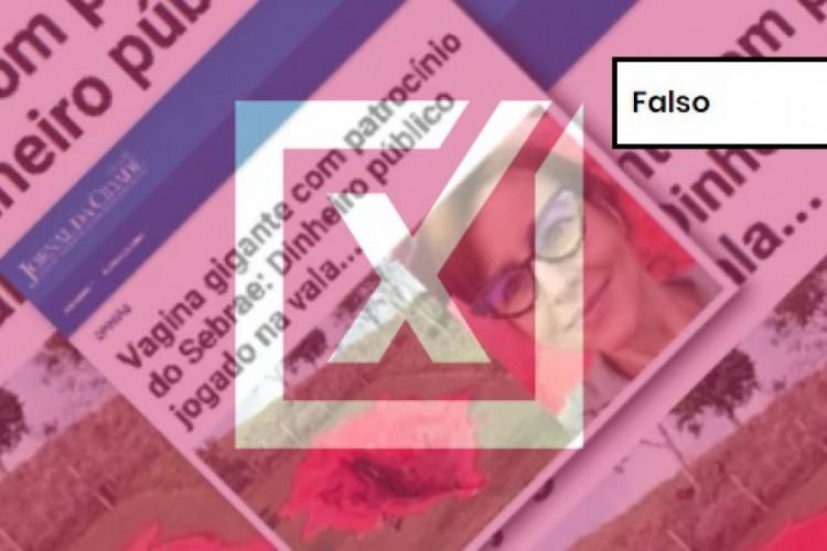 Um artigo de opinião veiculado no Jornal da Cidade Online afirma que a obra intitulada