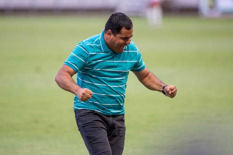 Leston Júnior comanda o Floresta na Série D 2020 (Foto: Pedro Chaves / FCF)