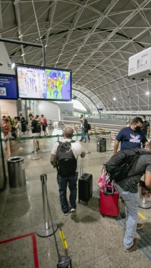 Aeroporto Internacional Pinto Martins (Foto: Aurelio Alves)