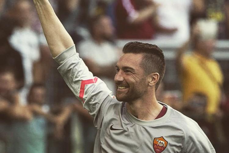 Morgan De Sanctis defendeu a Roma entre 2013 e 2016 (Foto: Reprodução / Instagram)