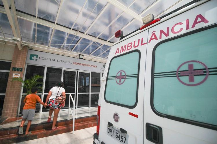 Casos de Covid-19 pressionam rede hospitalar (Foto: Deisa Garcez/Especial para O Povo)