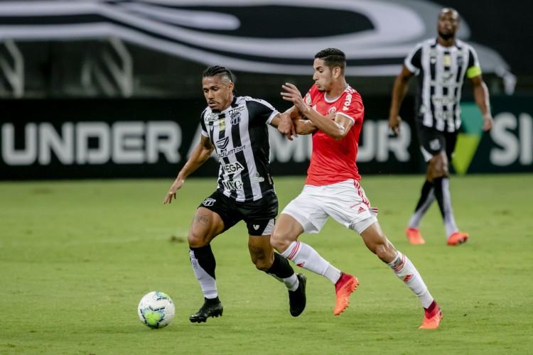 Ceará e Inter se reencontram no Beira-Rio, pela Série A (Foto: Aurelio Alves)