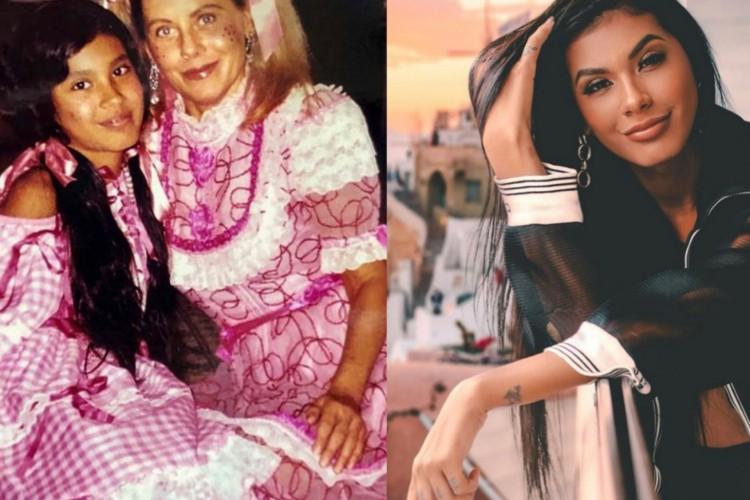 A atriz Vera Fischer revelou, por meio de uma publicação no seu perfil no Instagram, que conhece a cantora de funk Pocah há muito anos (Foto: Reprodução/Instagram)