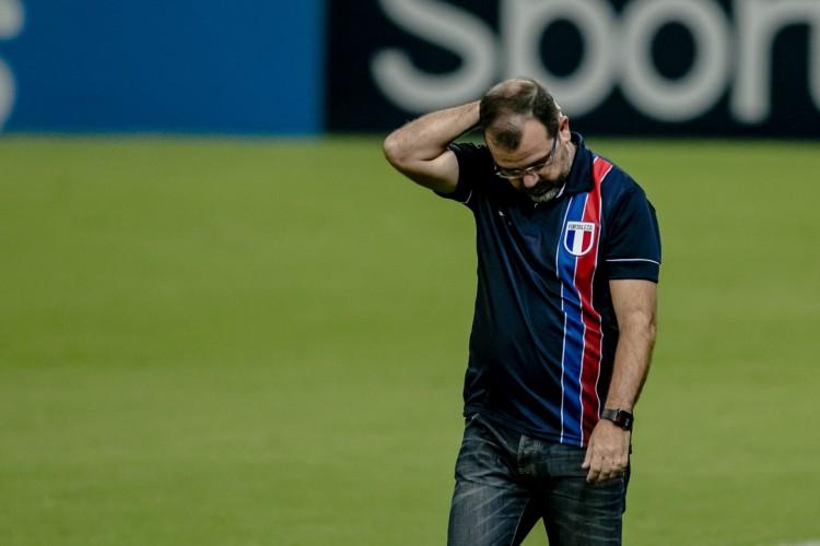 Técnico do Leão também falou sobre expulsão de Juninho  (Foto: Aurelio Alves/O POVO)