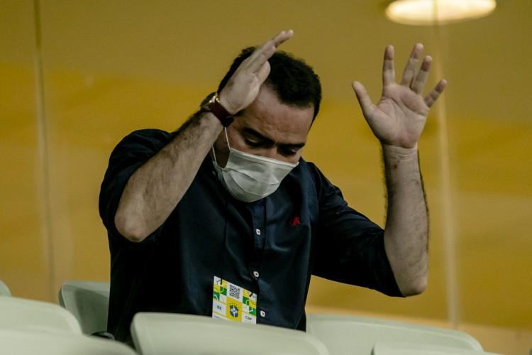 Presidente Marcelo Paz estuda ajustes no departamento de futebol do Fortaleza para a próxima temporada (Foto: Aurelio Alves)