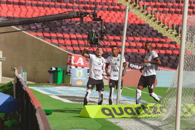 Ceará superou o Flamengo em pleno Maracanã pelo Brasileirão (Foto: Fausto Portela/Ceará )