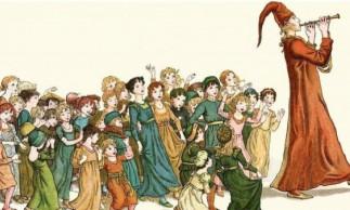 O Flautista de Hamelin é um conto folclórico originado na era medieva
