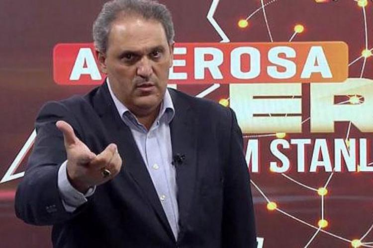 Stanley Gusman, apresentador da TV Alterosa/SBT, morreu nesse domingo, 10, vítima da Covid-19. (Foto: Reprodução/TV Alterosa)