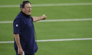 Bill Belichick. treinador principal do New England Patriots