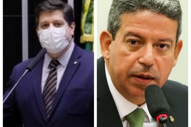 Candidatos à presidência da Câmara, Arthur Lira (Progressistas-AL) e Baleia Rossi (MDB-SP)  (Foto: Agência Brasil)