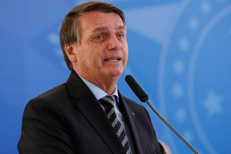 Bolsonaro foi questionado por apoiador (Foto: Alan Santos)