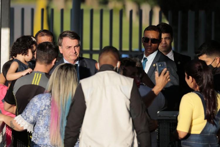Agressões a profissionais da imprensa aconteceram com frequência durante manifestações a favor de Bolsonaro.  (Foto: Marcelo Casal Jr. /Agência Brasil)