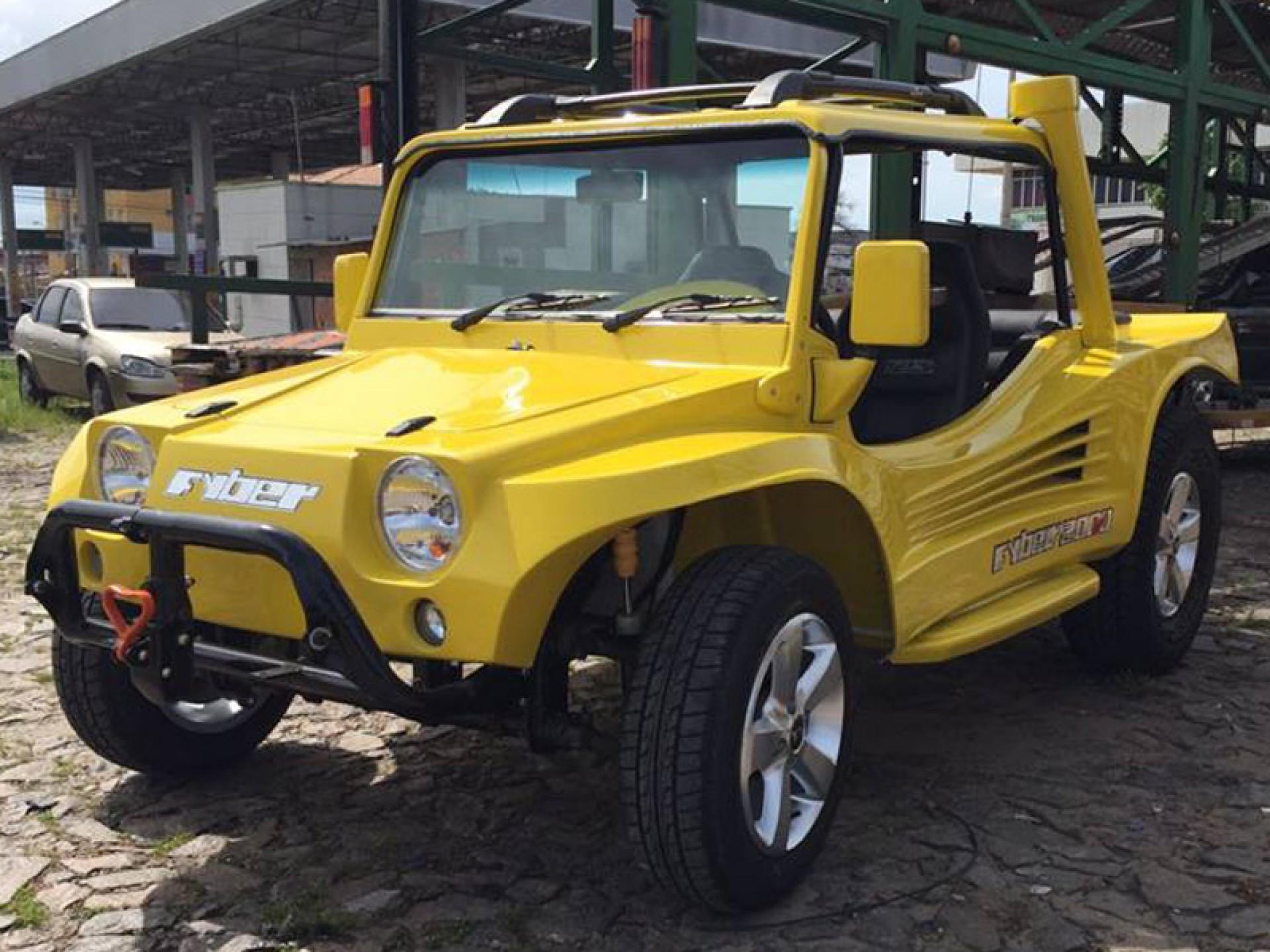 Primeiro buggy da Fyber foi produzido no Ceará em 1984