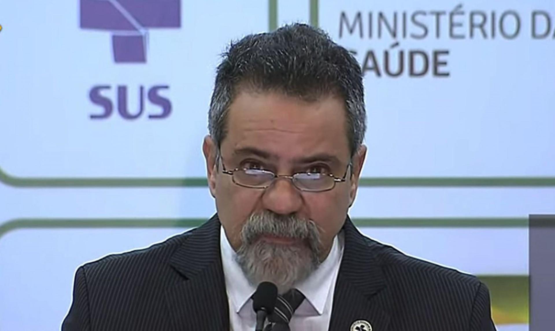 O SECRETÁRIO-EXECUTIVO da Saúde, Élcio Franco