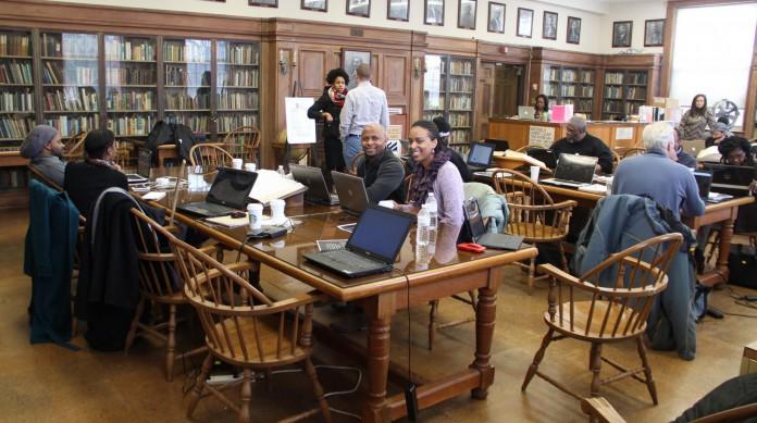 Maratona de edição em artigos da Wikipédia realizada no mês da Consciência Negra na Howard University, historicamente frequentada por negros