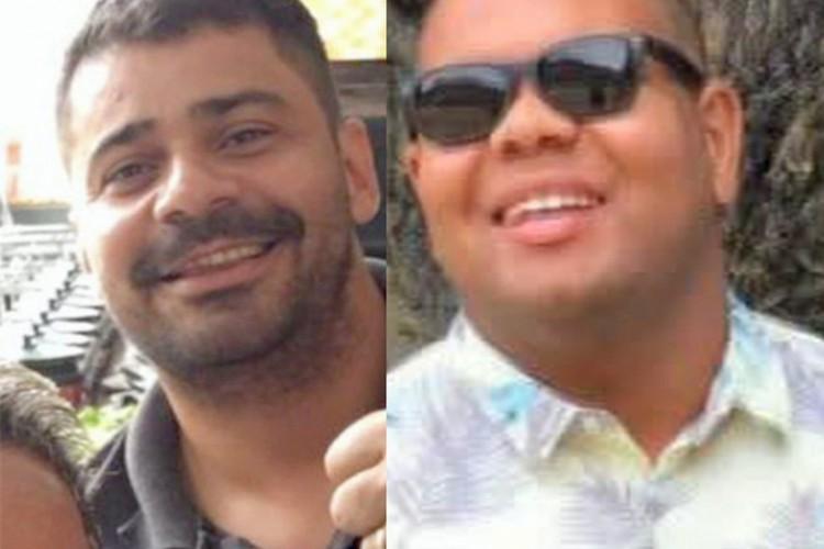 Rodrigo Costa e Israel Aarão Marcelo da Silva Correa, mortos em assaltos no Rio de Janeiro.   (Foto: Acervo Pessoal)