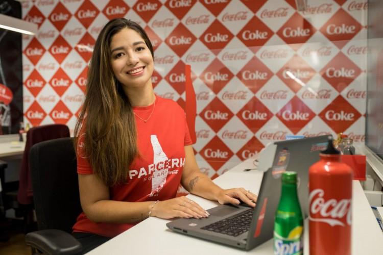Programa de estágio da Solar Coca Cola em Fortaleza (Foto: Divulgação )